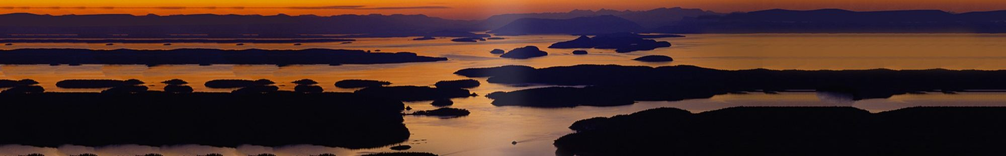 San Juan County, Washington, USA --- San Juan Islands at Twilight --- Image by © Bill Ross/CORBIS